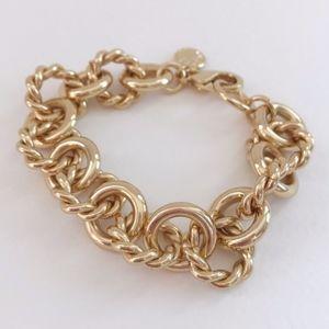 NWOT J. Crew Factory gold bracelet